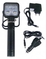 LED Handscheinwerfer mit Li-ion Akku und Ladekabel