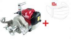 Motor-Spillwinde, Honda 1,36 PS, 35ccm, GX 35 + 10x Mundschutz