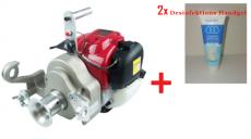 Motor-Spillwinde, Honda 1,36 PS, 35ccm, GX 35 + 2x Desinfektions Handgel