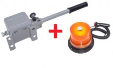 Angebot: Schnellverschlusskupplung +  LED Rundumkennleuchte Magnetmontage