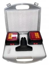 Funk LED Anhängerbeleuchtung, 13 plg