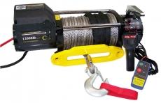 Profi-Seilwinde 12 V, 10800 kg, 25 m Synthetikseil