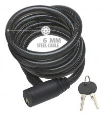 Spypoint Diebstahlsicherung Kabelschloss 6 mm