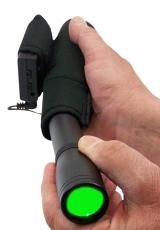 Laser designator Taschenlampe 9 mW incl. Heizummantelung