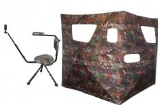 Spar-Set Schießstuhl und Tarnschirm