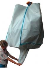 Big Bag 1000kg, m. Auslauf, 90x90x120cm