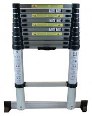 AluminiumTeleskopleiter ca. 3,2 m oder ca. 3,8 m