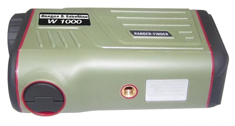 Laser entfernungsmesser m