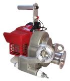 Motor-Spillwinde,  mit Kawasaki Motor TJ-35E, 1,0 kw/1,38 PS, 35ccm. Spillwinde, capstan winch