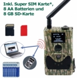 Spar set MMS GPRS 18 MP HD incl. Super SIM, 8 Batt