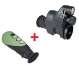 Pard NV007A,GenII digitales Nachtsichtgerät +  Wärmebildgerät Infiray X eye E3n (19)