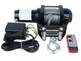 12 V Motor Seilwinde mit Funk-Fernbedienung, bis 4,3t
