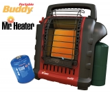 Kanzelheizung Mr. Heater Portable Buddy bis 2,4 kW