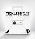 tickless cat white Ultraschallzeckenvertreiber